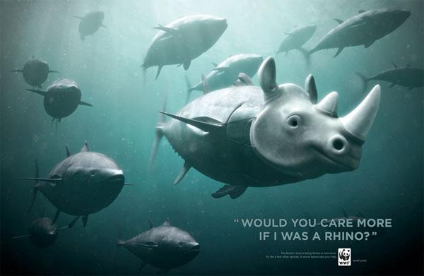 wwf rhino ad
