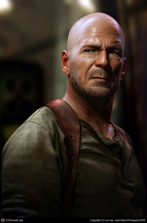 Photo Realistic 3D Characters With Extreme Detailing