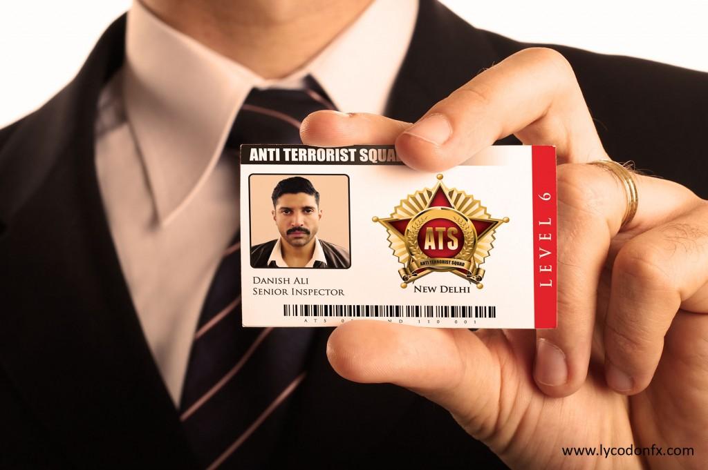 Farhan Akhtar's ATS id card