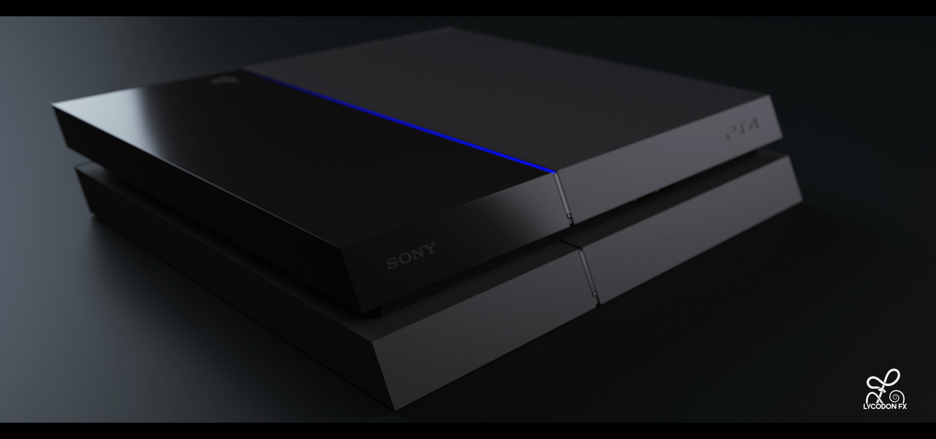 Ps4 Product Render For Print Advert Lycodonfx Portfolio