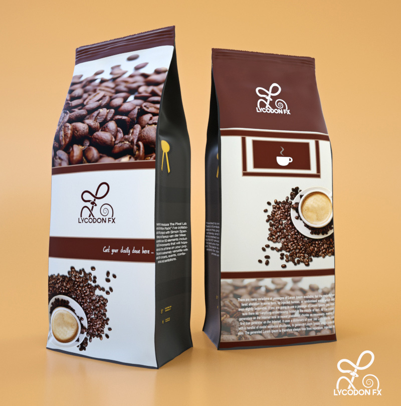coffee package product design